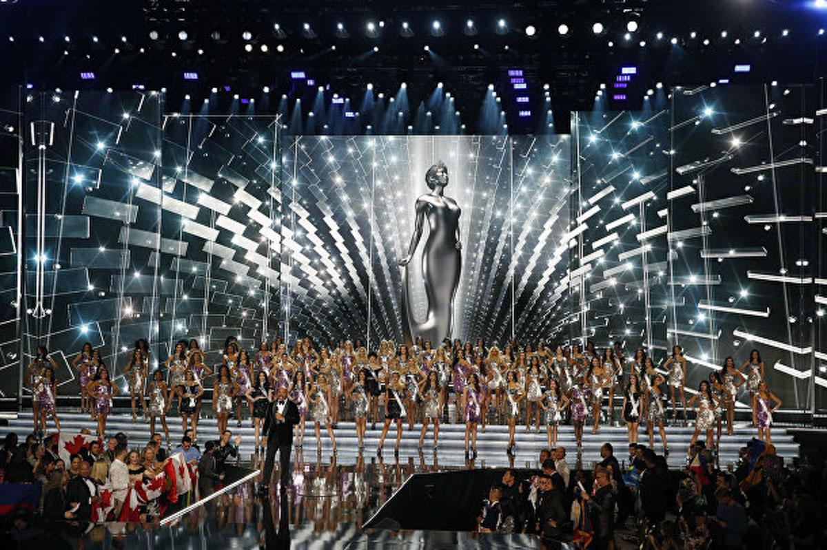 Международный конкурс красоты прошел 26 ноября в США