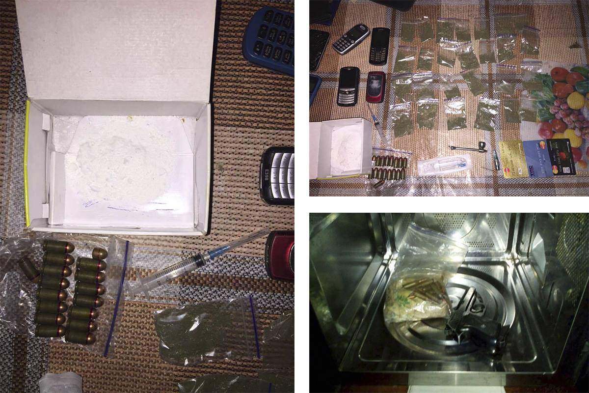 Под Киевом задержали женщину, которая продавала наркотики и хранила дома оружие