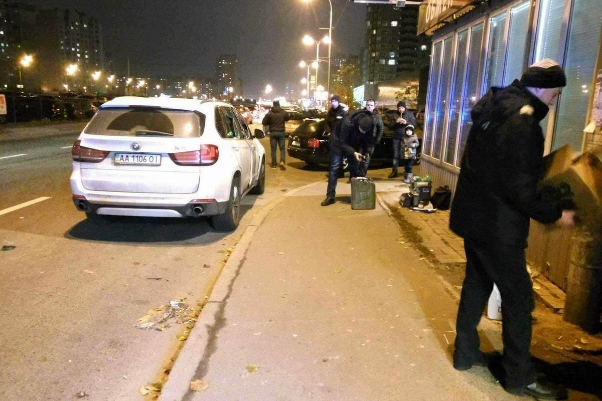 Владельца BMW госпитализировали