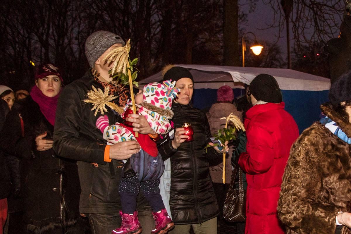 На акцию пришли несколько сотен киевлян