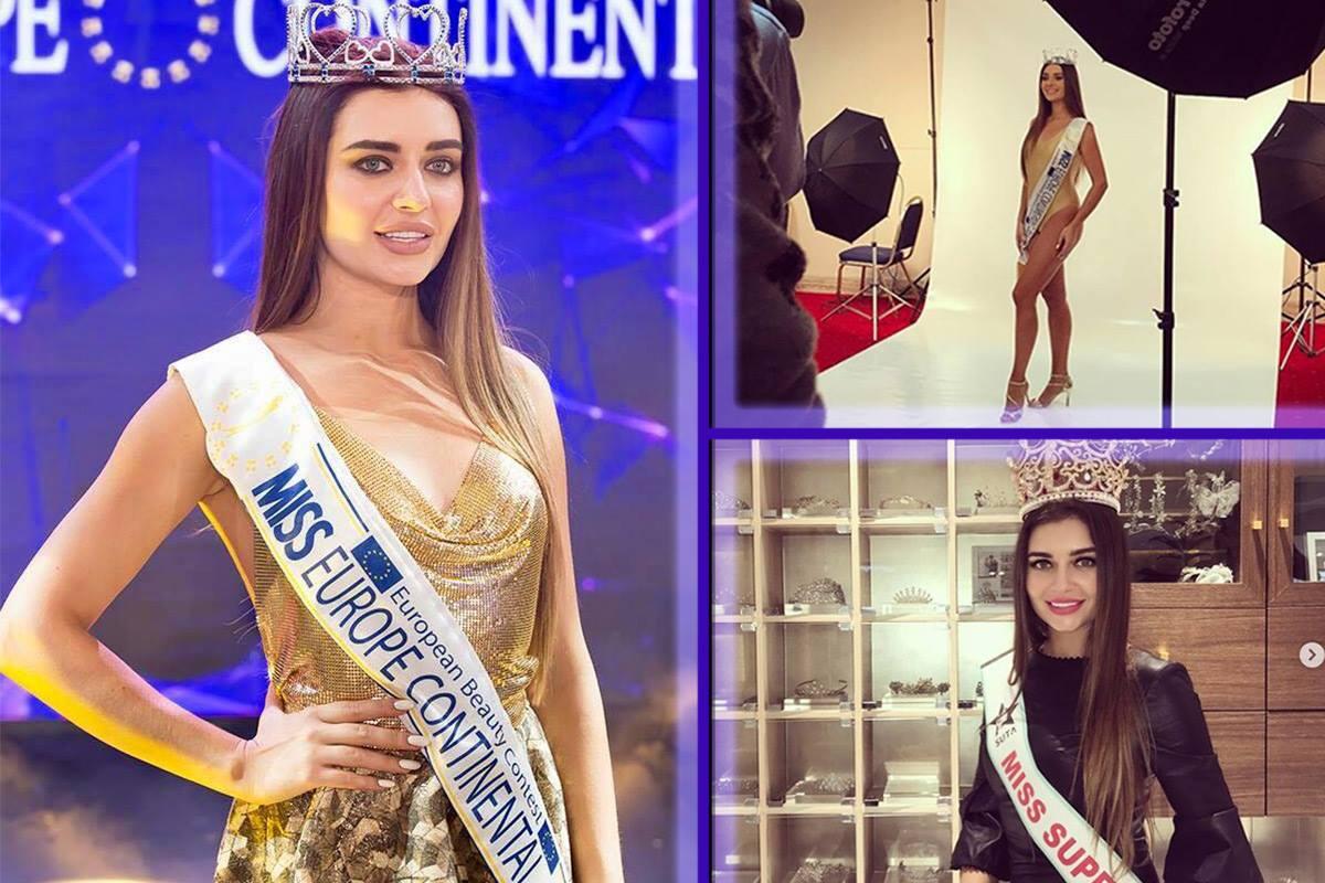 Победительница Miss Europe Continental Наталья Варченко