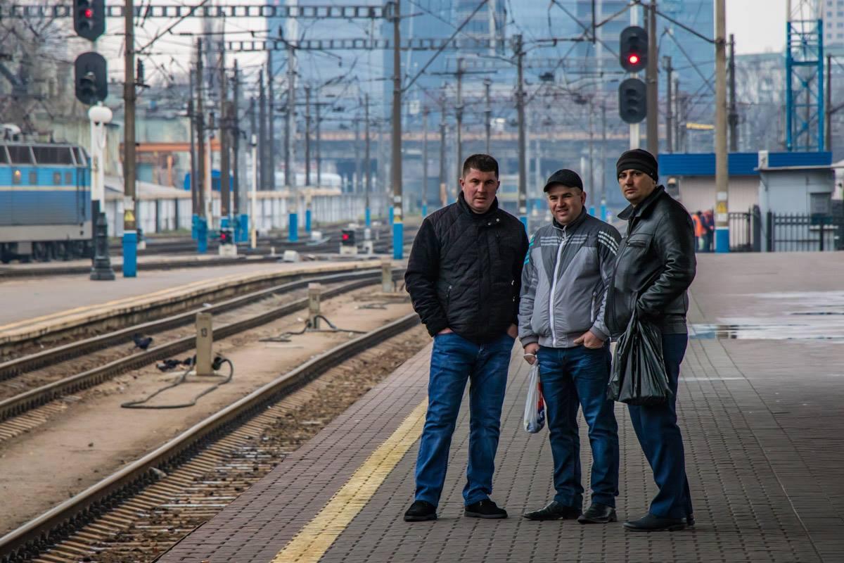 Три товарища...