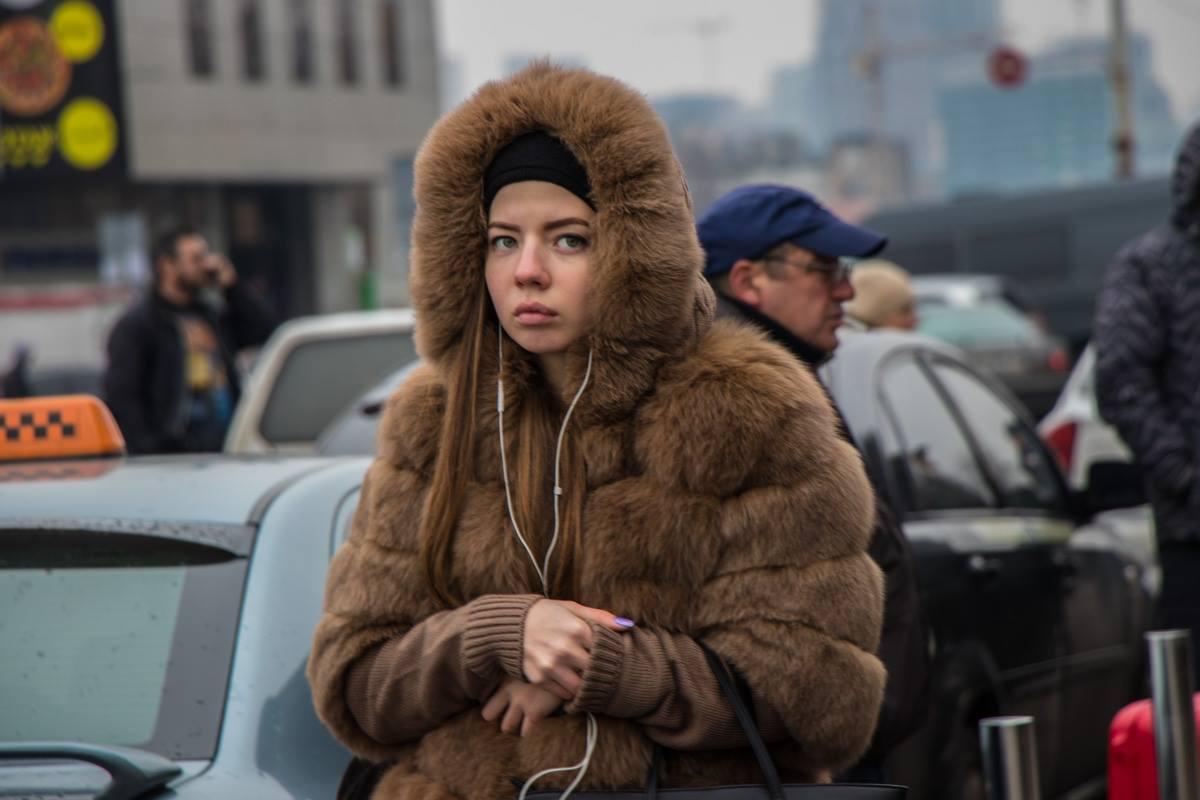 На улице похолодало