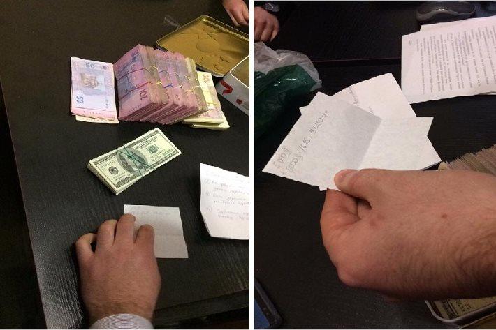 Застройщик пытался купить полицейского 270 тысячами гривен