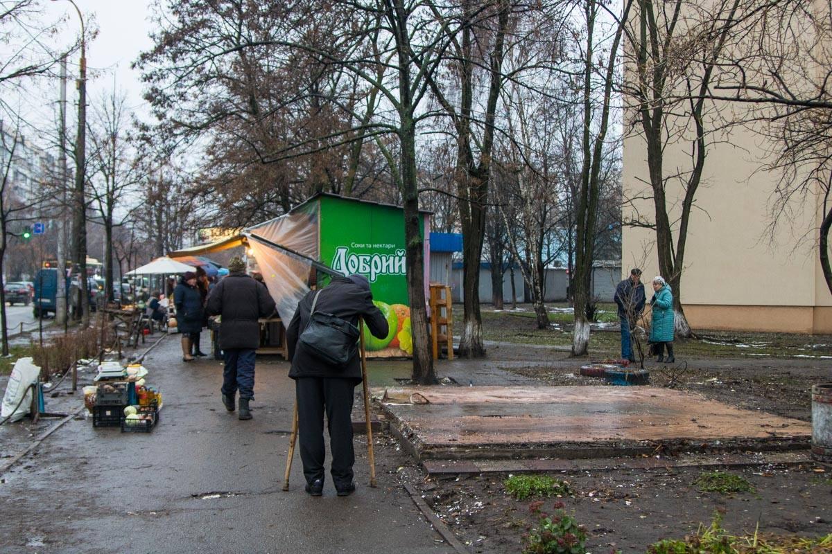 Другие МАФы на улице Якубовского никто не трогал