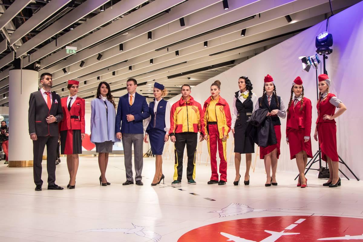 Лучшую дизайнерскую униформу выбирали сами представители авиакомпаний