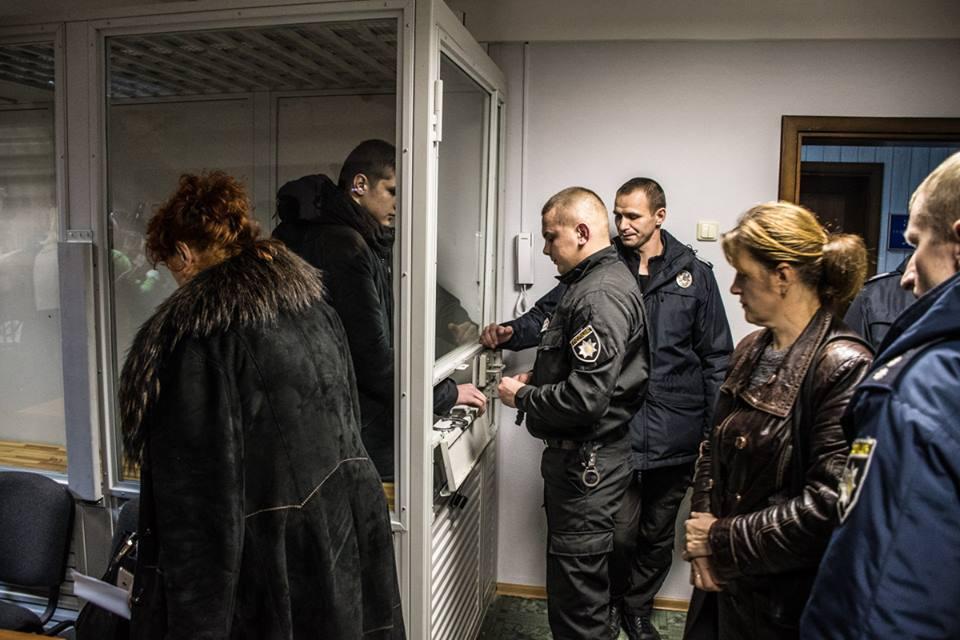 В Киеве прошло судебное заседание по делу сына нардепа Игоря Попова Богдана