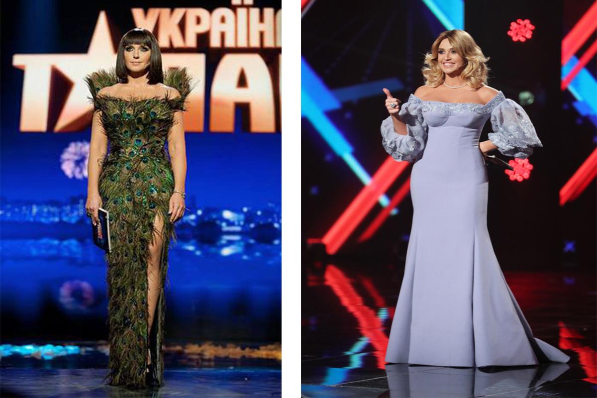 Все наряды в которых Оксана Марченко выходила на сцену – ее