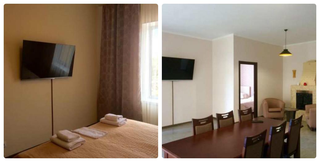 """Квартира для тех,кто хочет """"гульнуть,так гульнуть"""" - 3 раздельные спальни идеально подойдут для большой компании"""