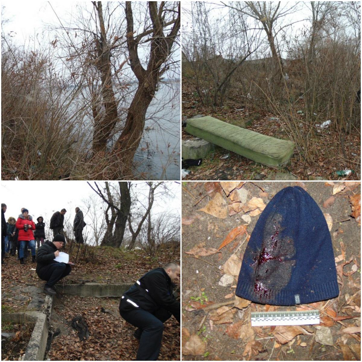 В Киеве на берегу реки нашли убитого мужчину