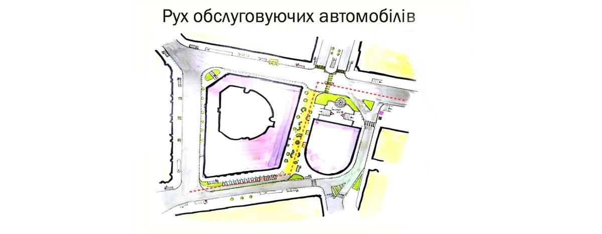 Также они предлагают сделать наземный переход от Бессарабского рынка до бульвара Шевченко