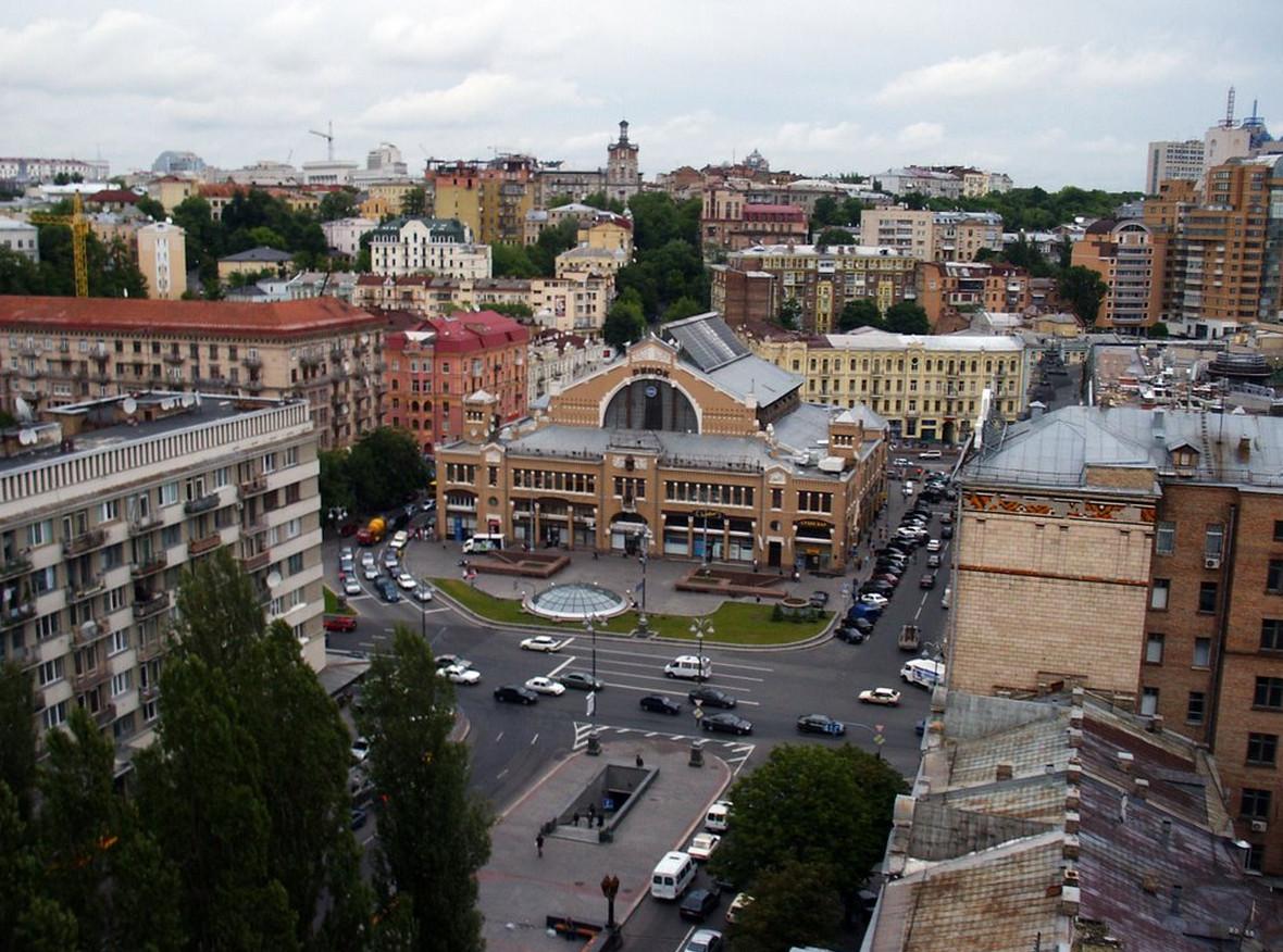 Так выглядит Бессарабская площадь сейчас. Фото: infoportal.kiev.ua