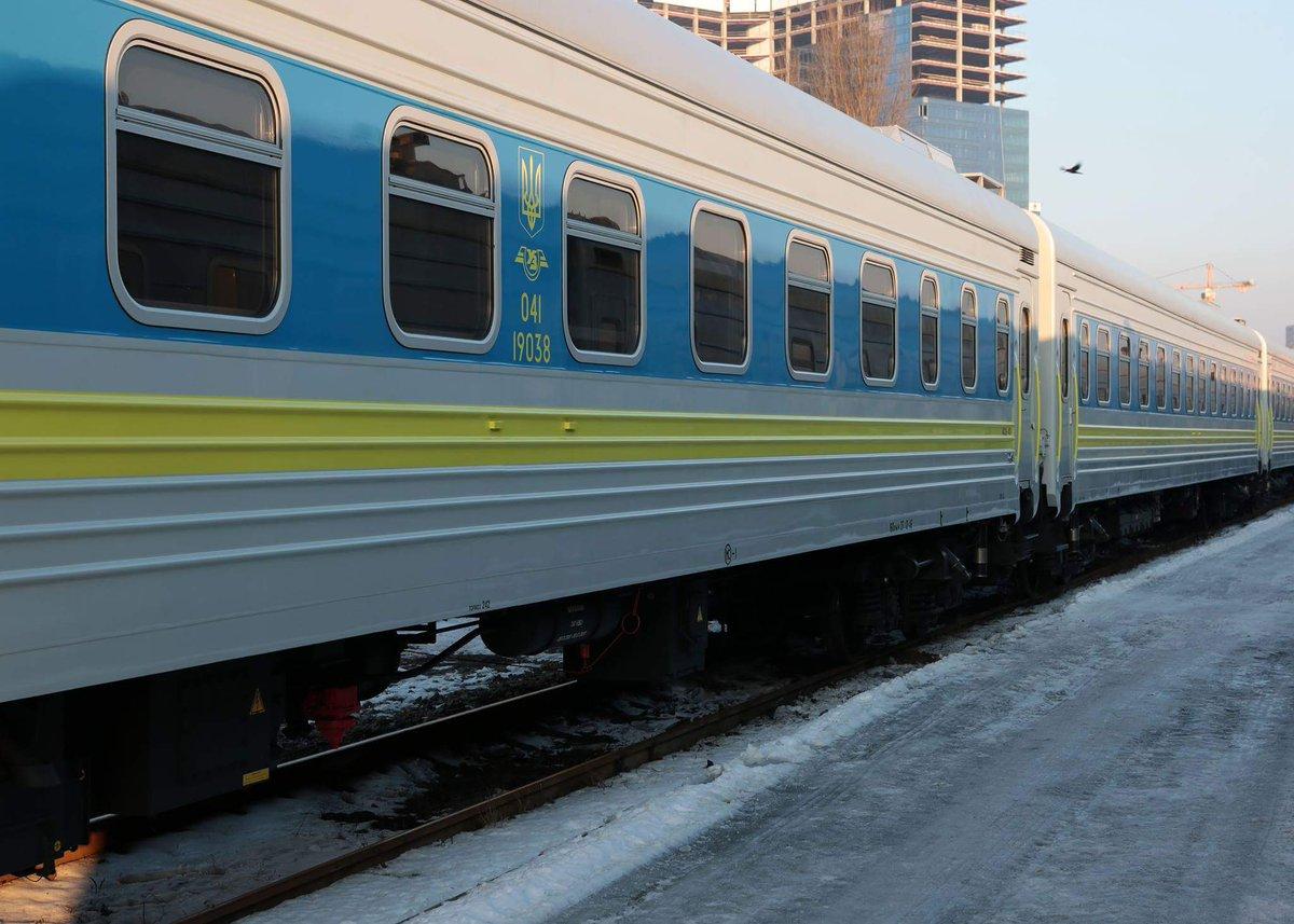 На маршруте Киев - Запорожье вагоны-трансформеры появятся в ноябре