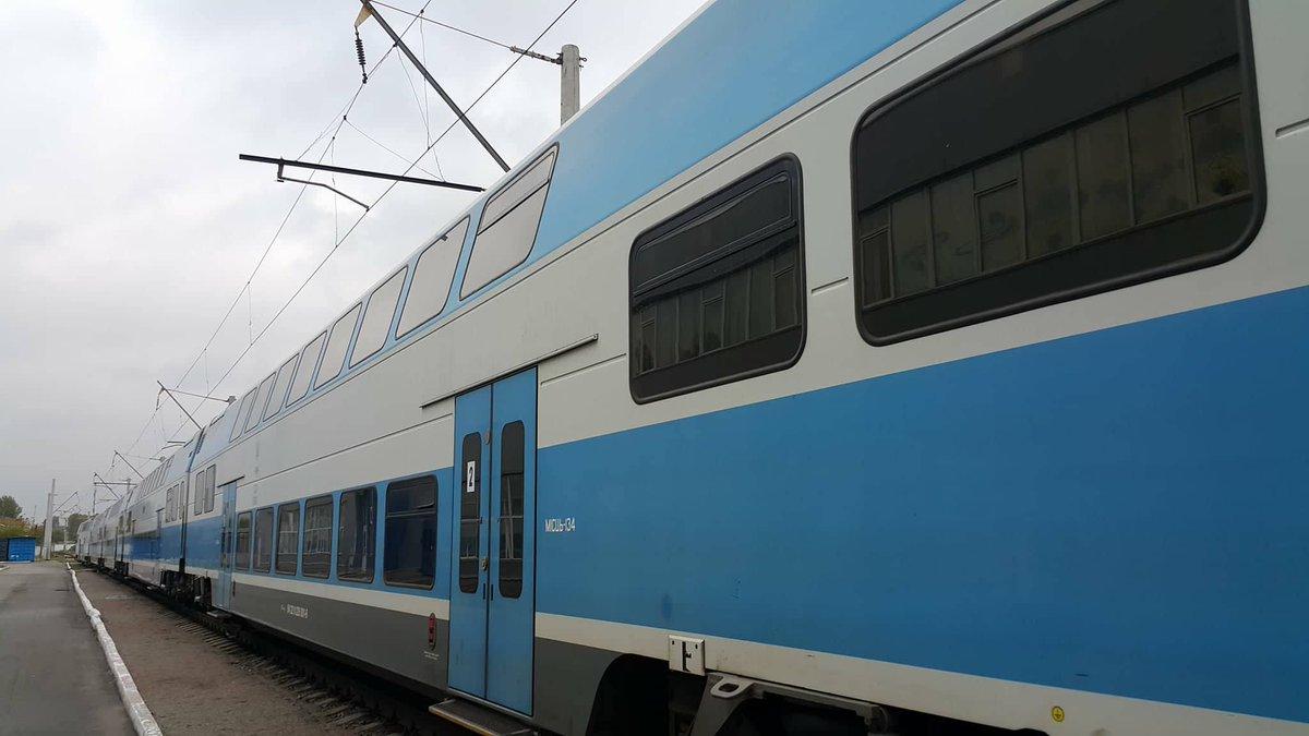 Из Тернополя в Киев запустили двухэтажный скоростной поезд