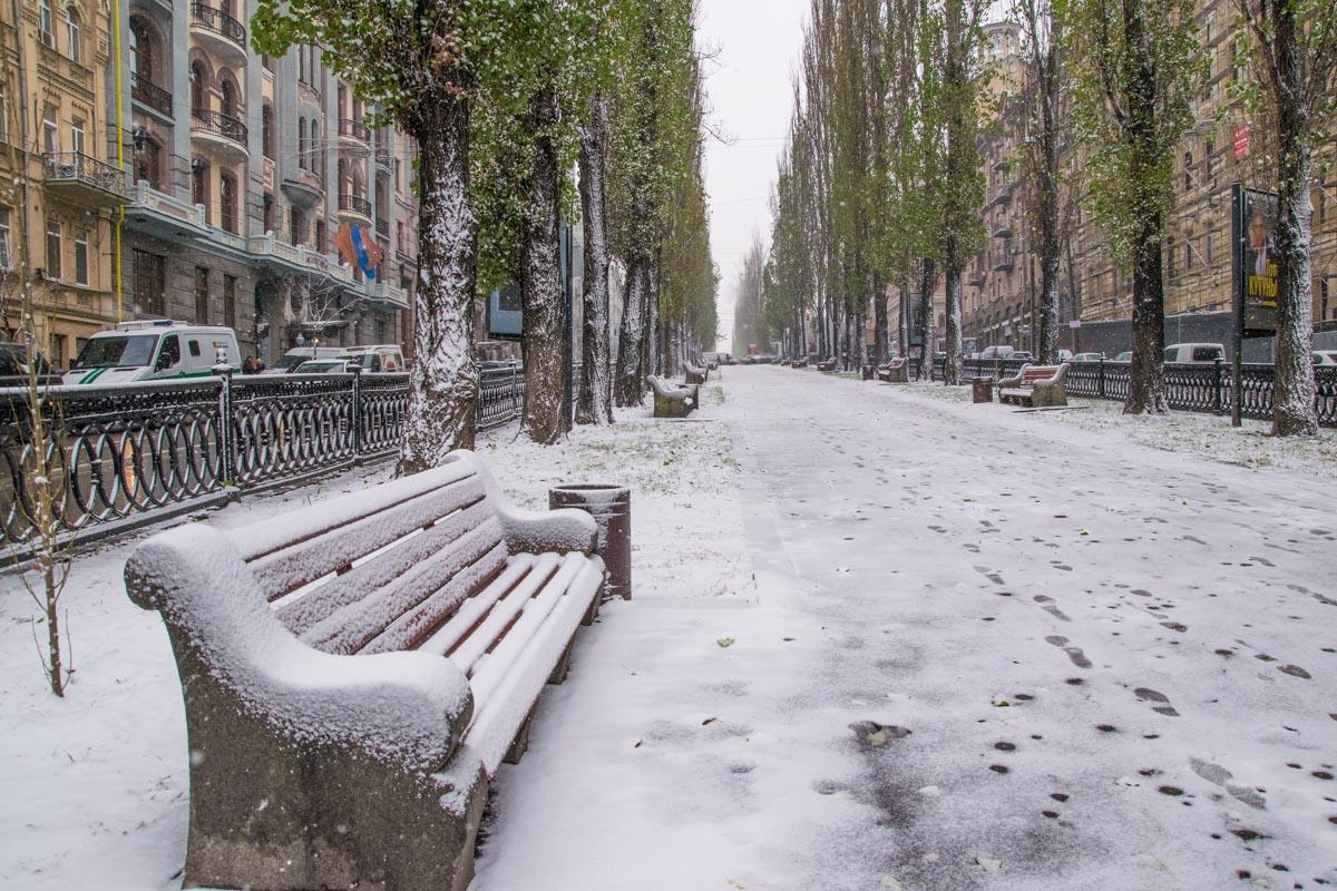 Снег - это волшебное покрывало, которое скрывает уродство и делает все удивительным