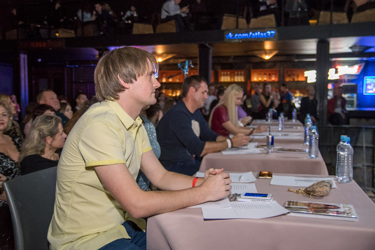 Организатор конкурса Александр Санченко также присутствовал в жюри
