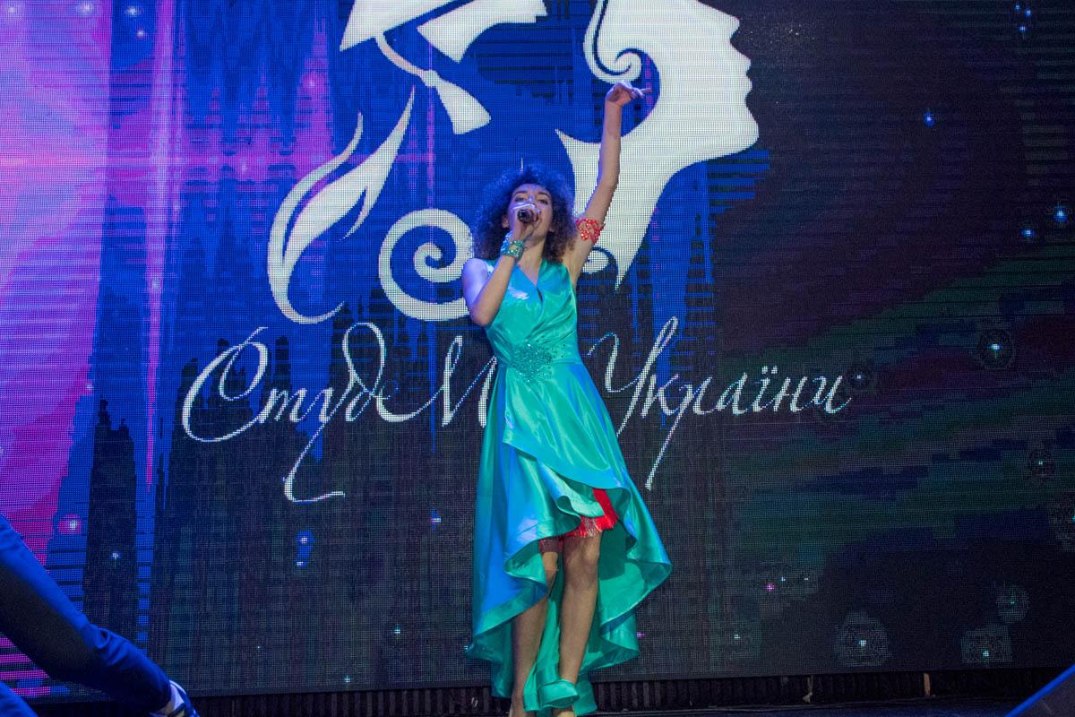 Юная певица исполнила несколько авторских песен на конкурсе