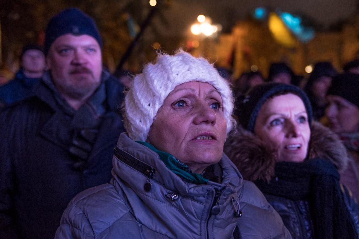 Некоторые приехали специально на митинг на 2 дня из Одессы