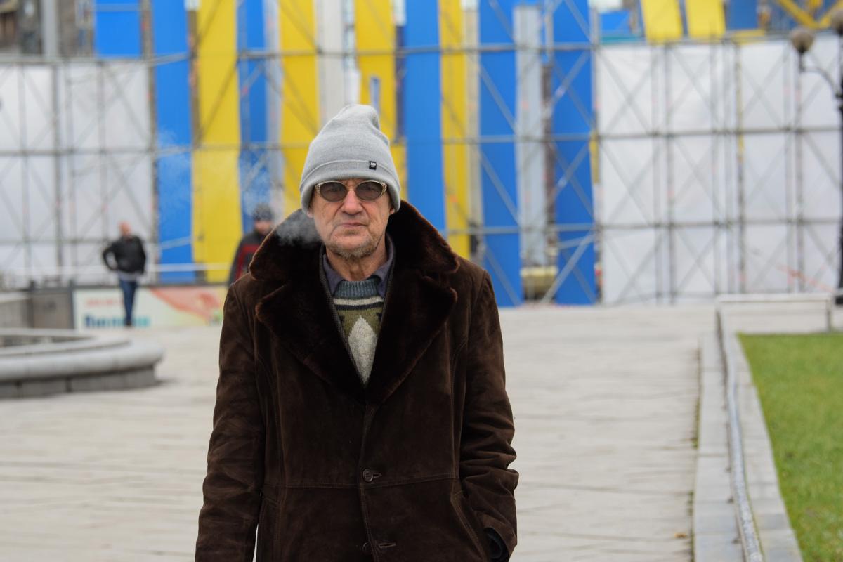 Колоритный киевлянин