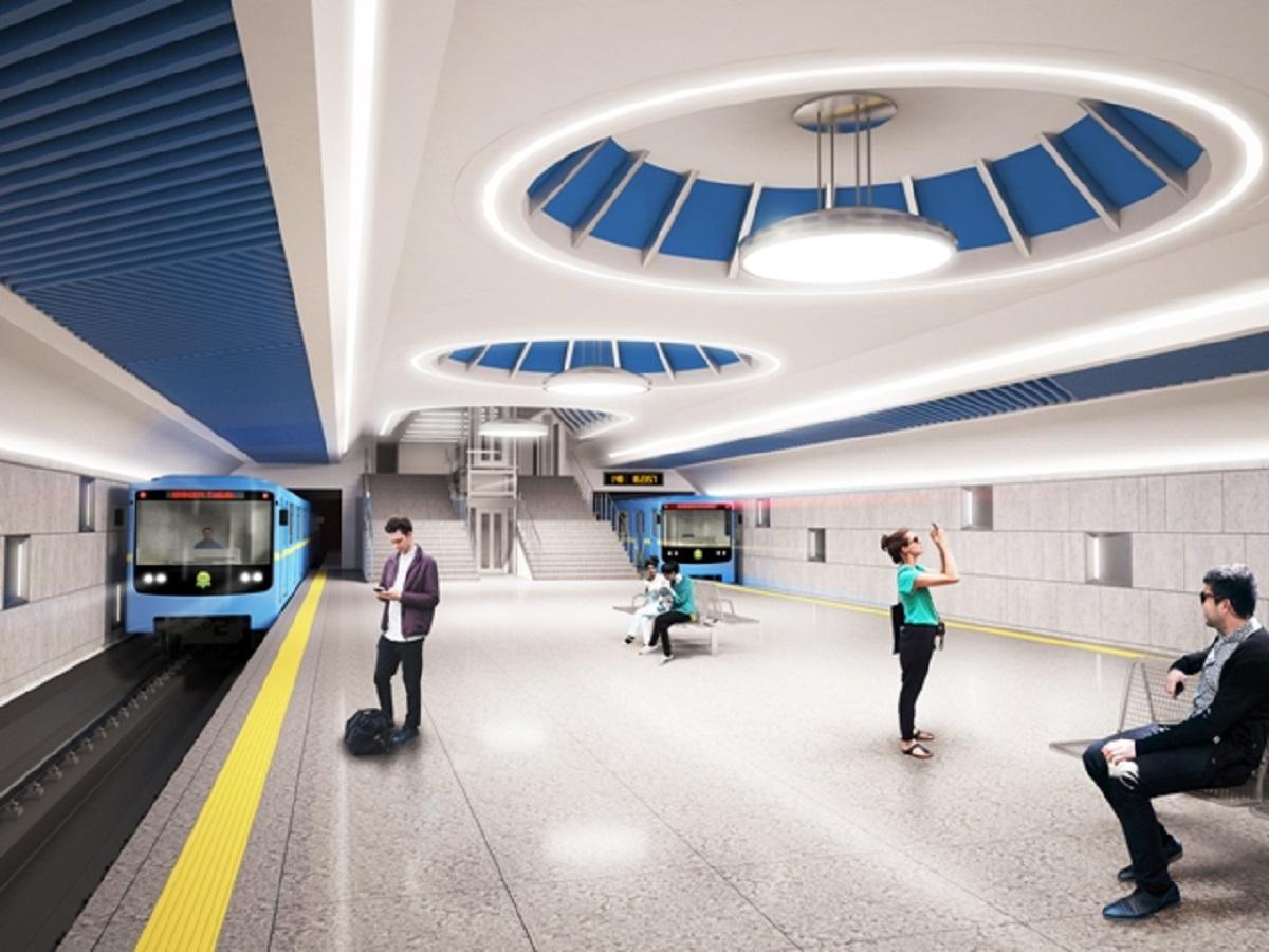 Будущая станция метро «Маршала Гречко», которую начнут строить в 2020 году