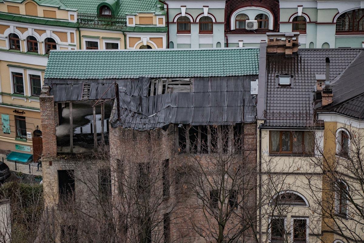 Не все дома в Киеве пережили борьбу со временем