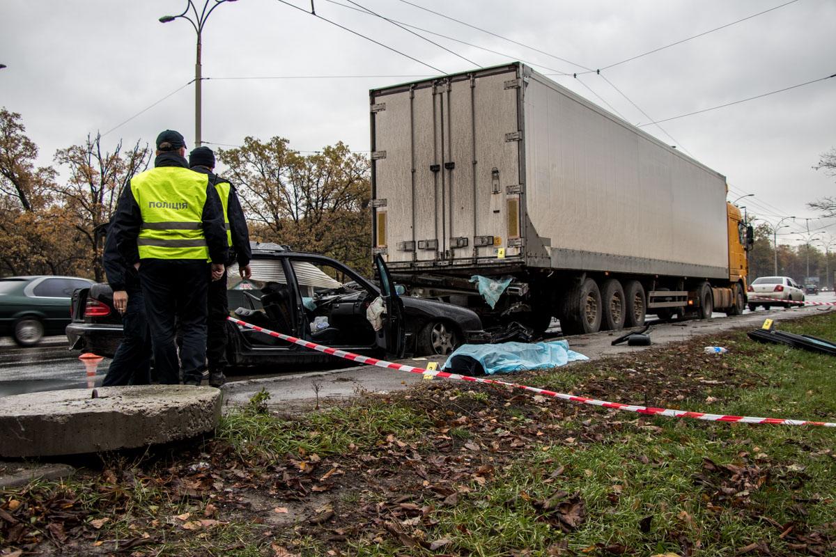 В Киеве на Заболотного произошло ДТП