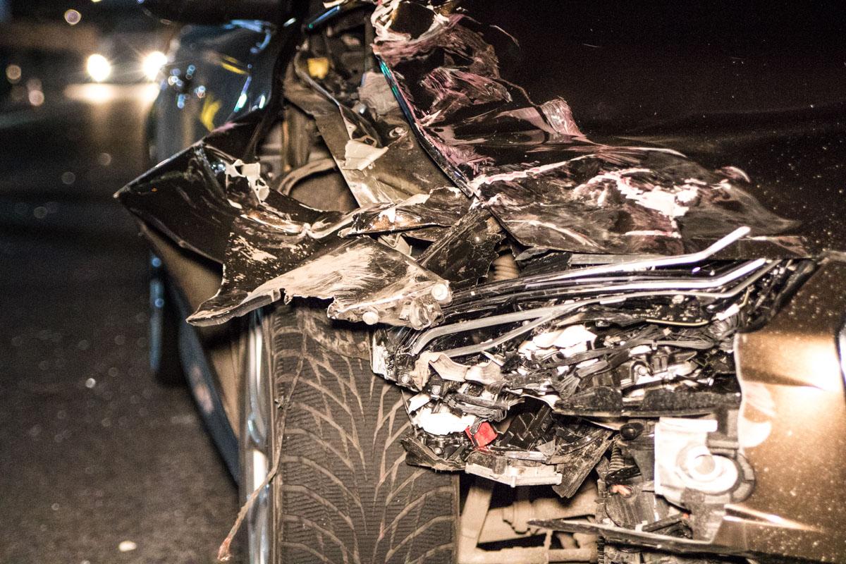 К счастью, водитель Audi не пострадал