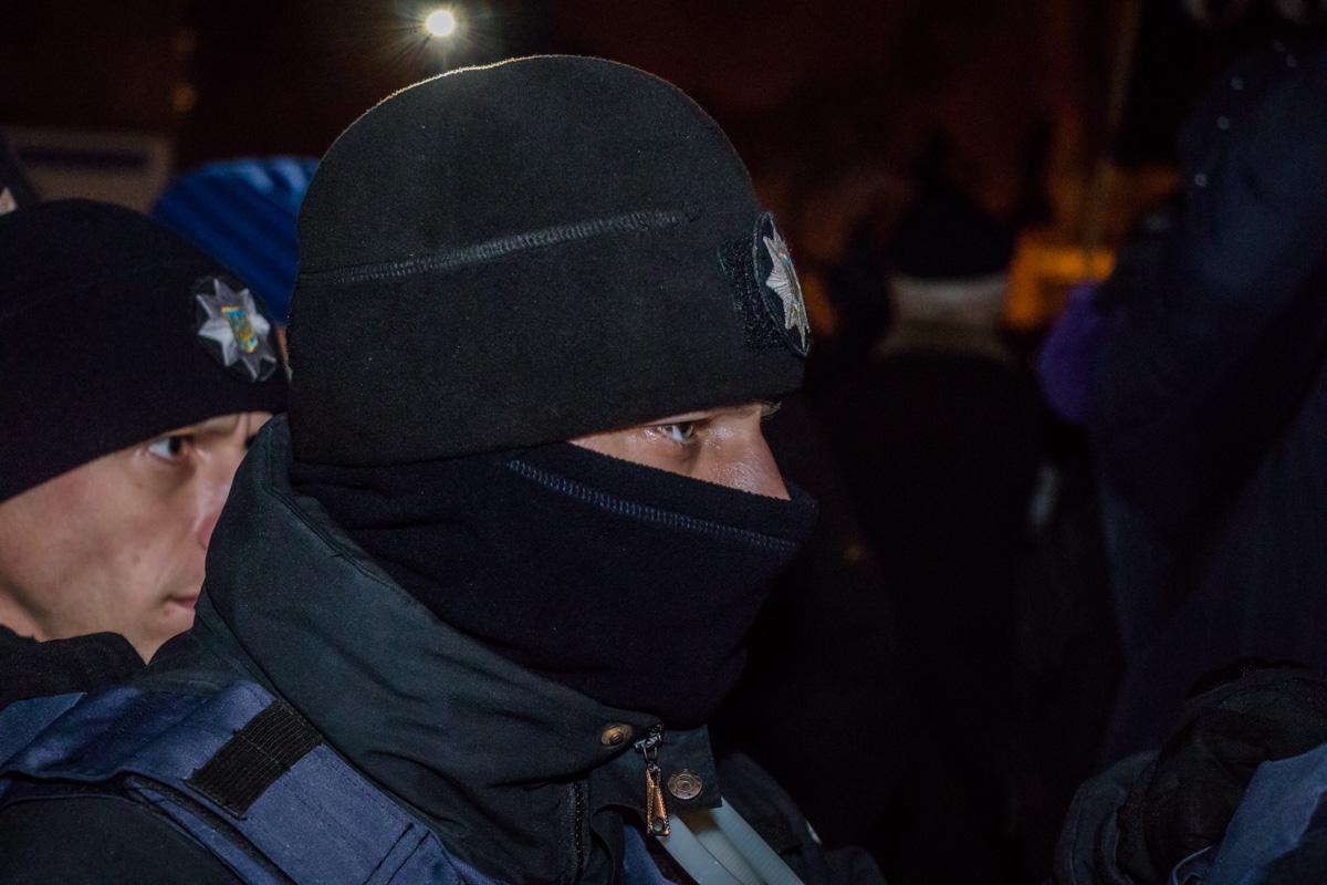 Полицейские настроены серьезно