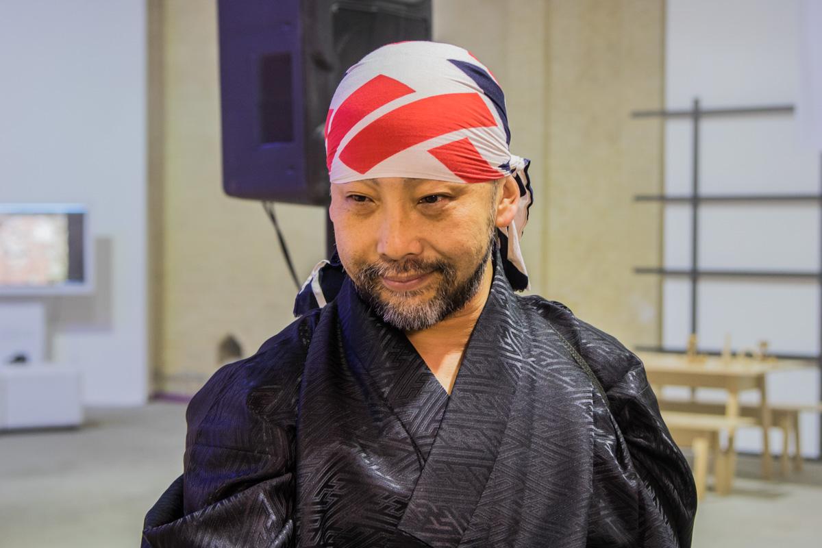 Японский мастер мяча - Тецуро Шимагучи
