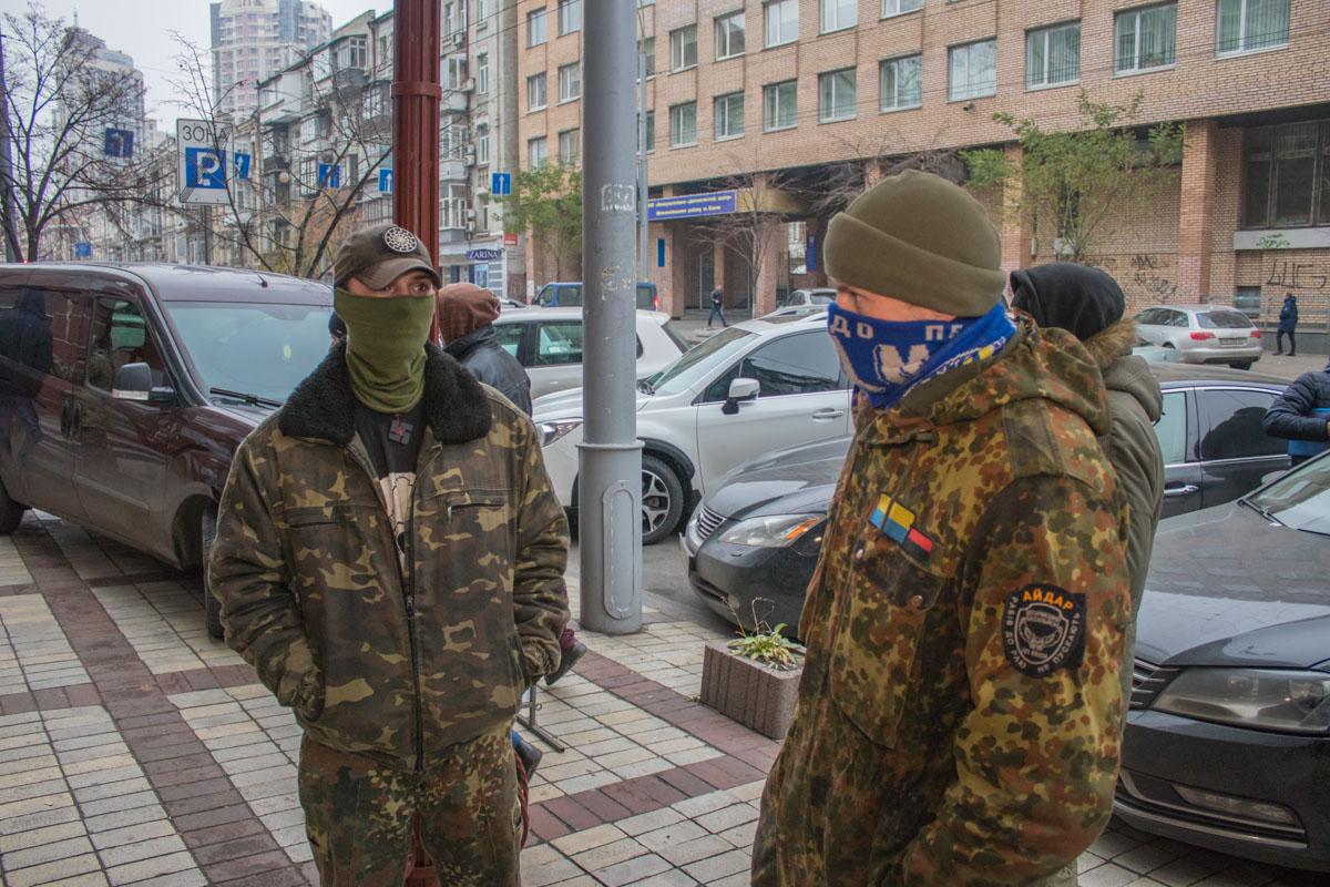 """Среди активистов были бойцы батальона """"Айдар"""""""