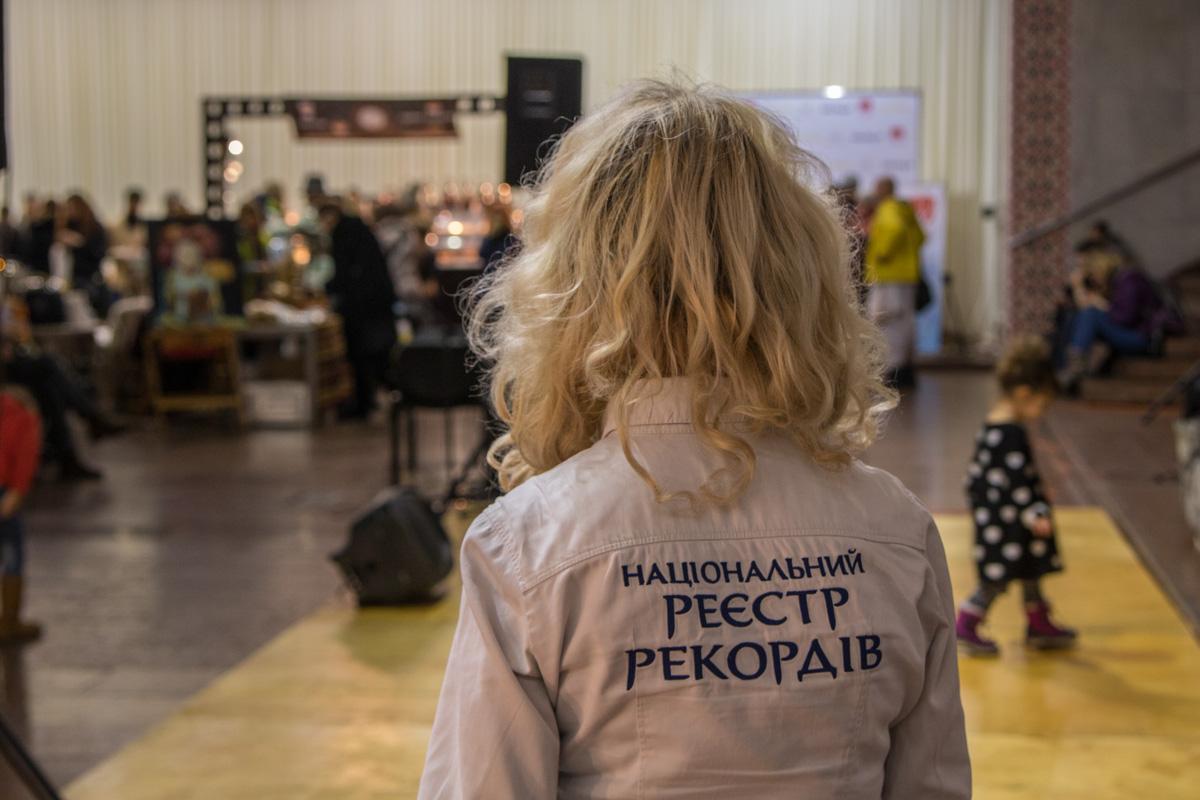 Акцию зарегистрировали, как национальный рекорд Украины