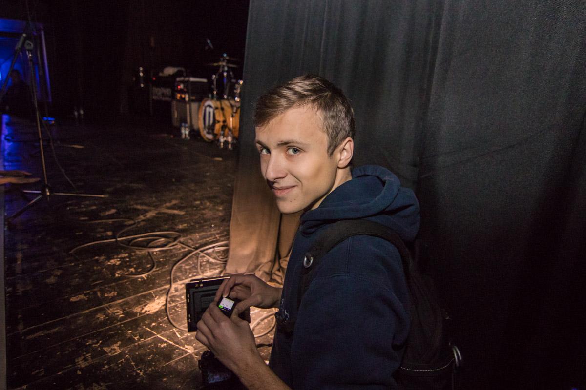 Информатор побывал на концерте, чтобы показать его своим читателям