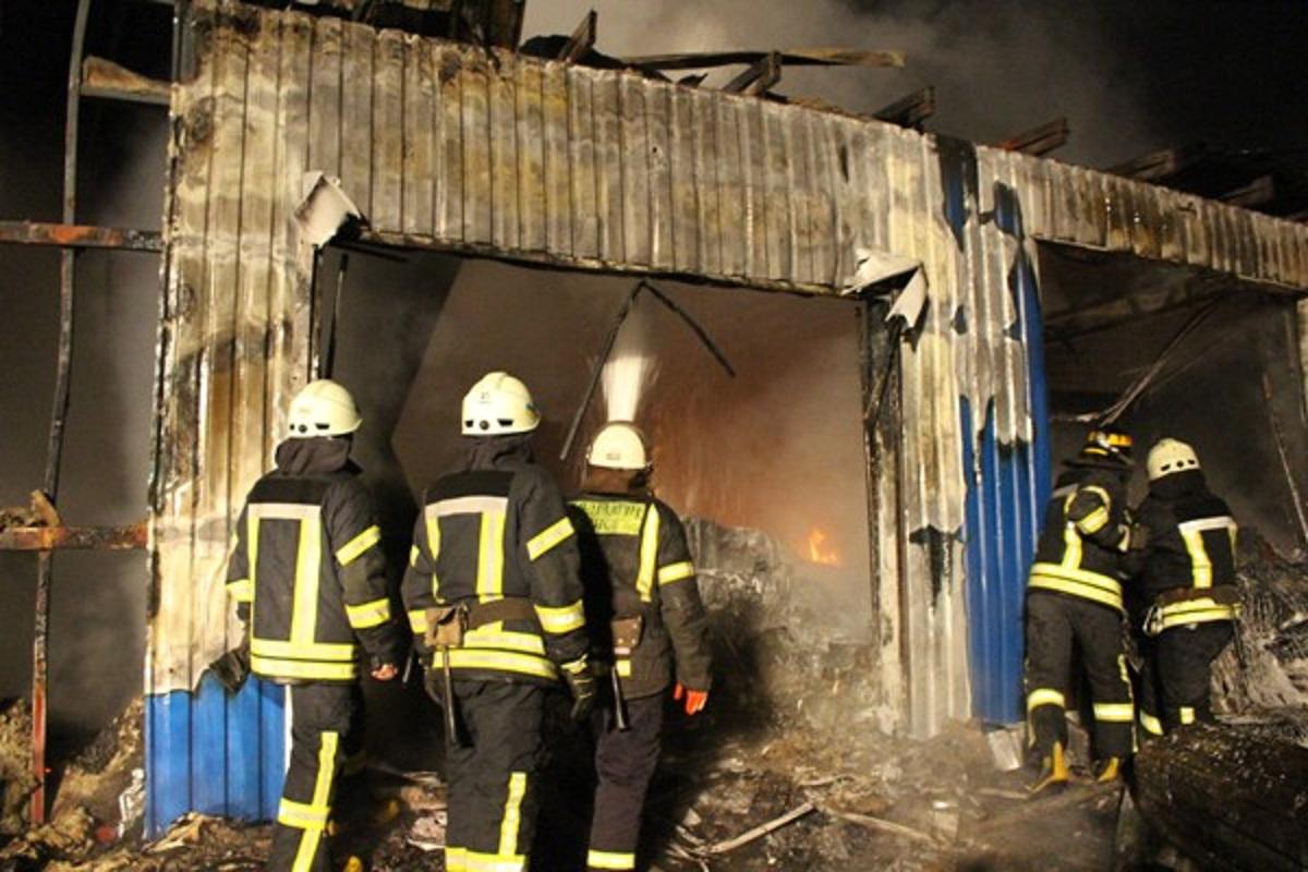 Пожар произошел в ночь на 19 ноября