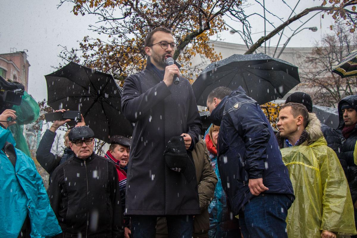Сергей Лещенко сообщил, что они будут требовать импичмента Президента Украины
