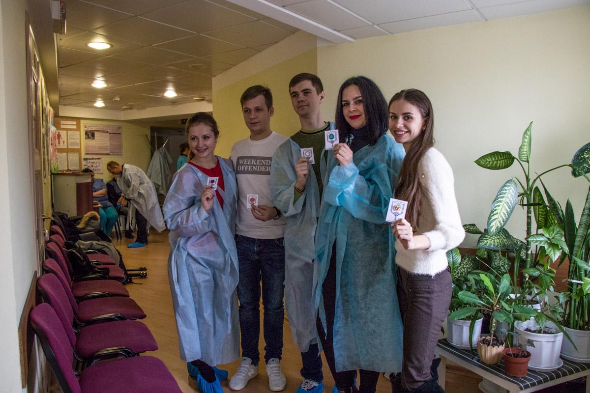 "Волонтерский проект ""Zdai blood"""