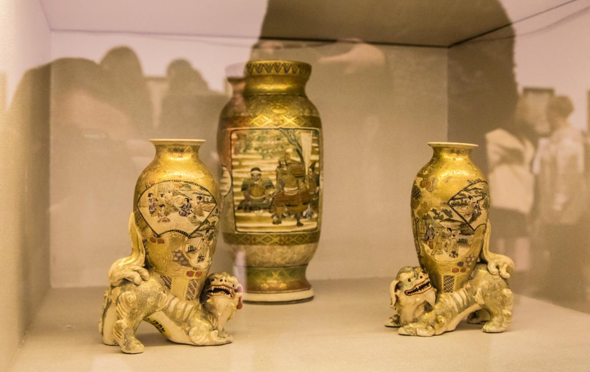 Уникальные экспонаты японского искусства на выставке