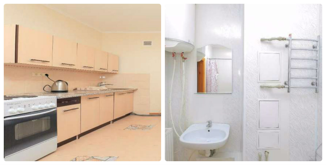 Более экономный вариант - жилье за 900 гривен с новым ремонтом и всем необходимым для празднования