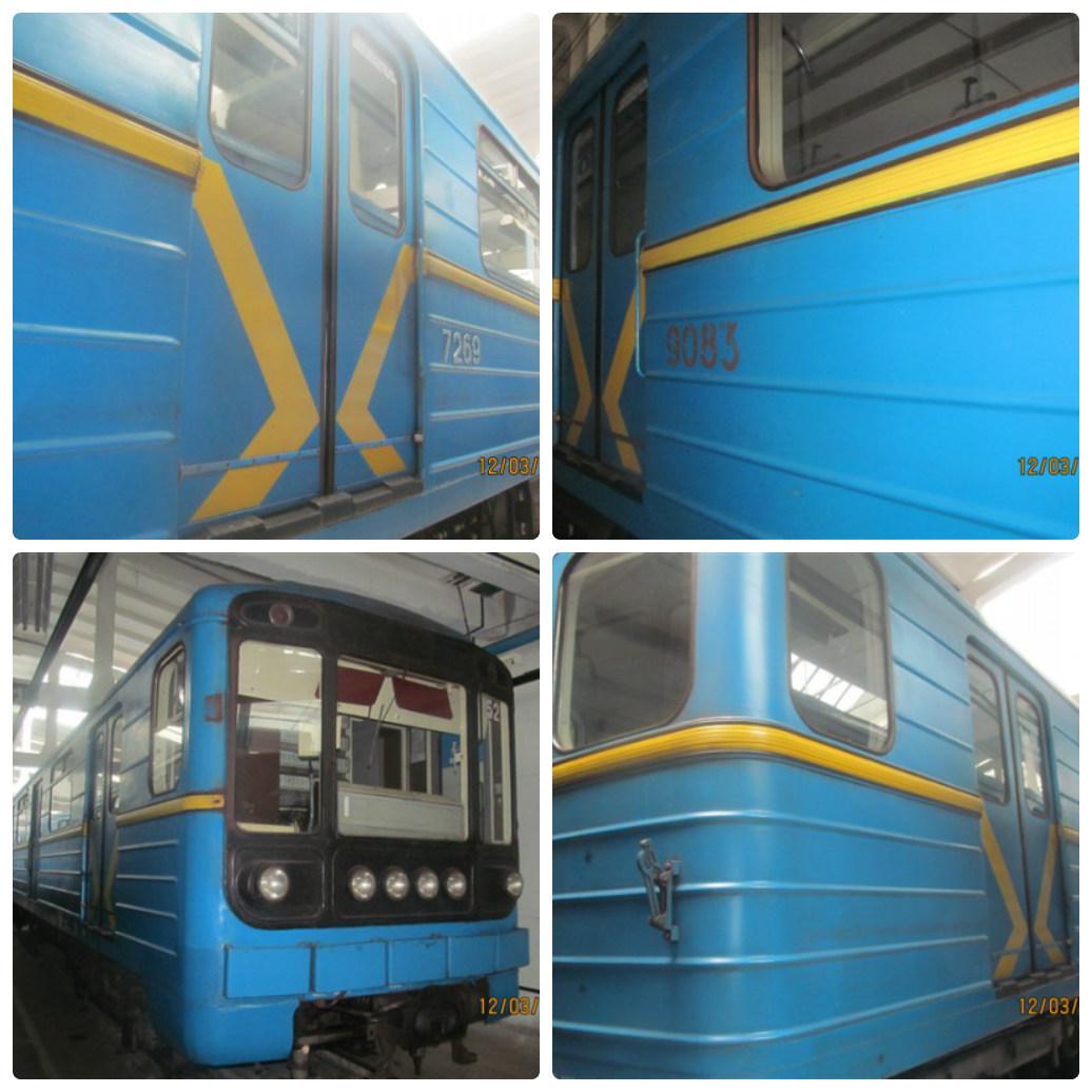 Так выглядят вагоны метро, выставленные на продажу