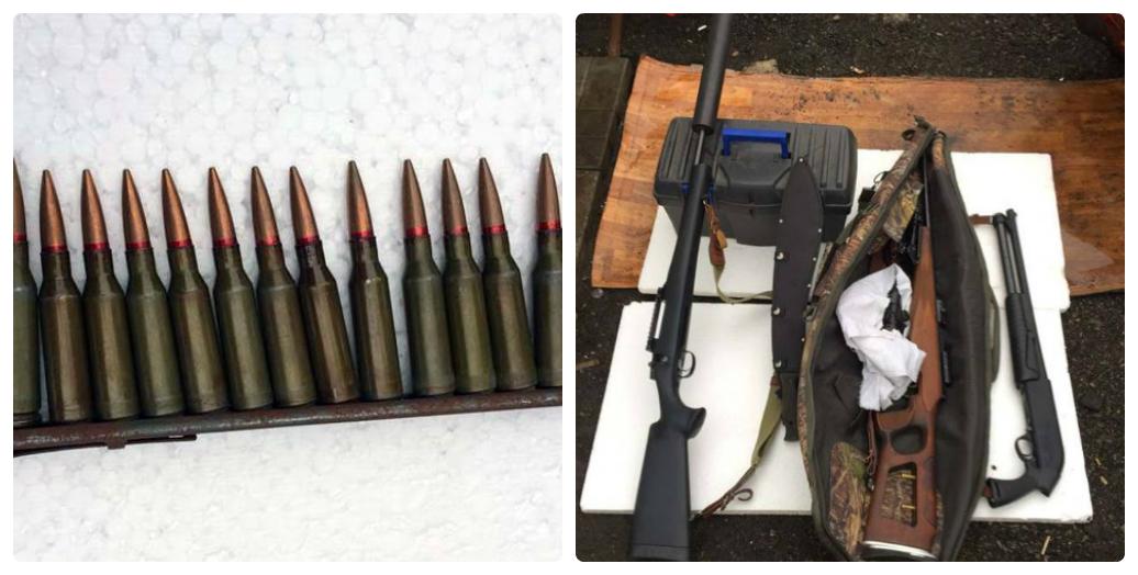 ВДеснянском районе милиция нашла вгараже оружие ибоеприпасы