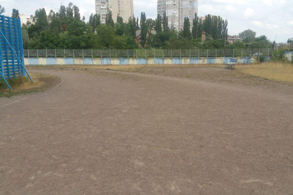 В рамках благоустройства территории гимназии необходимо отремонтировать школьный стадион
