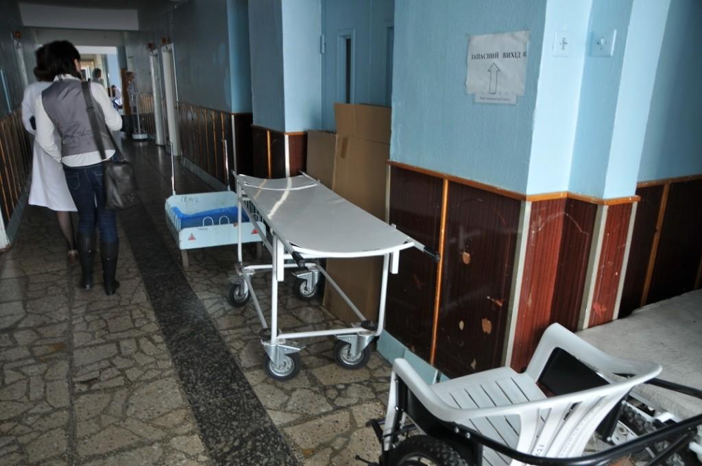Последний раз ремонт в гематологическом отделении больницы проводился в 60-х годах прошлого века