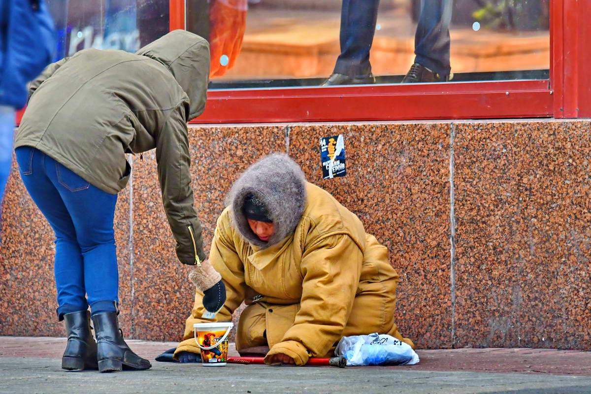 Щедры ли сегодня киевляне?
