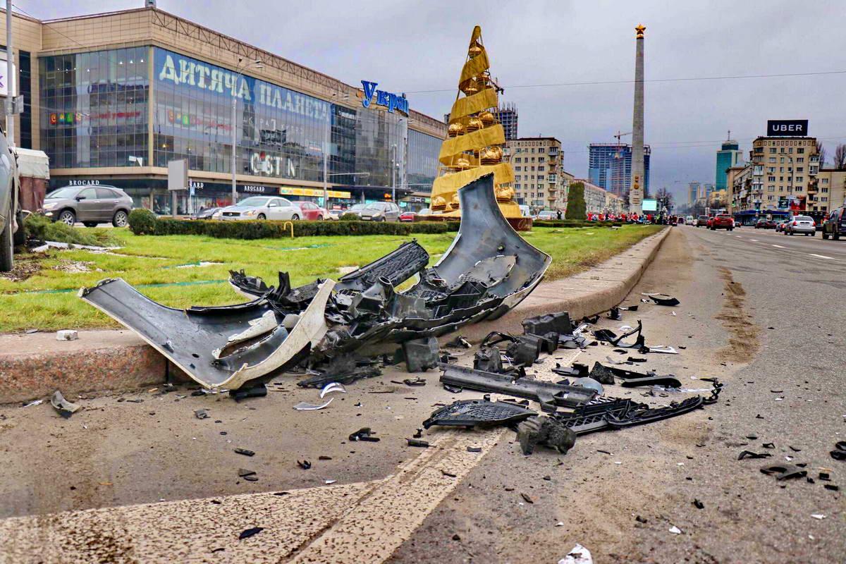 В аварии пострадавших не было