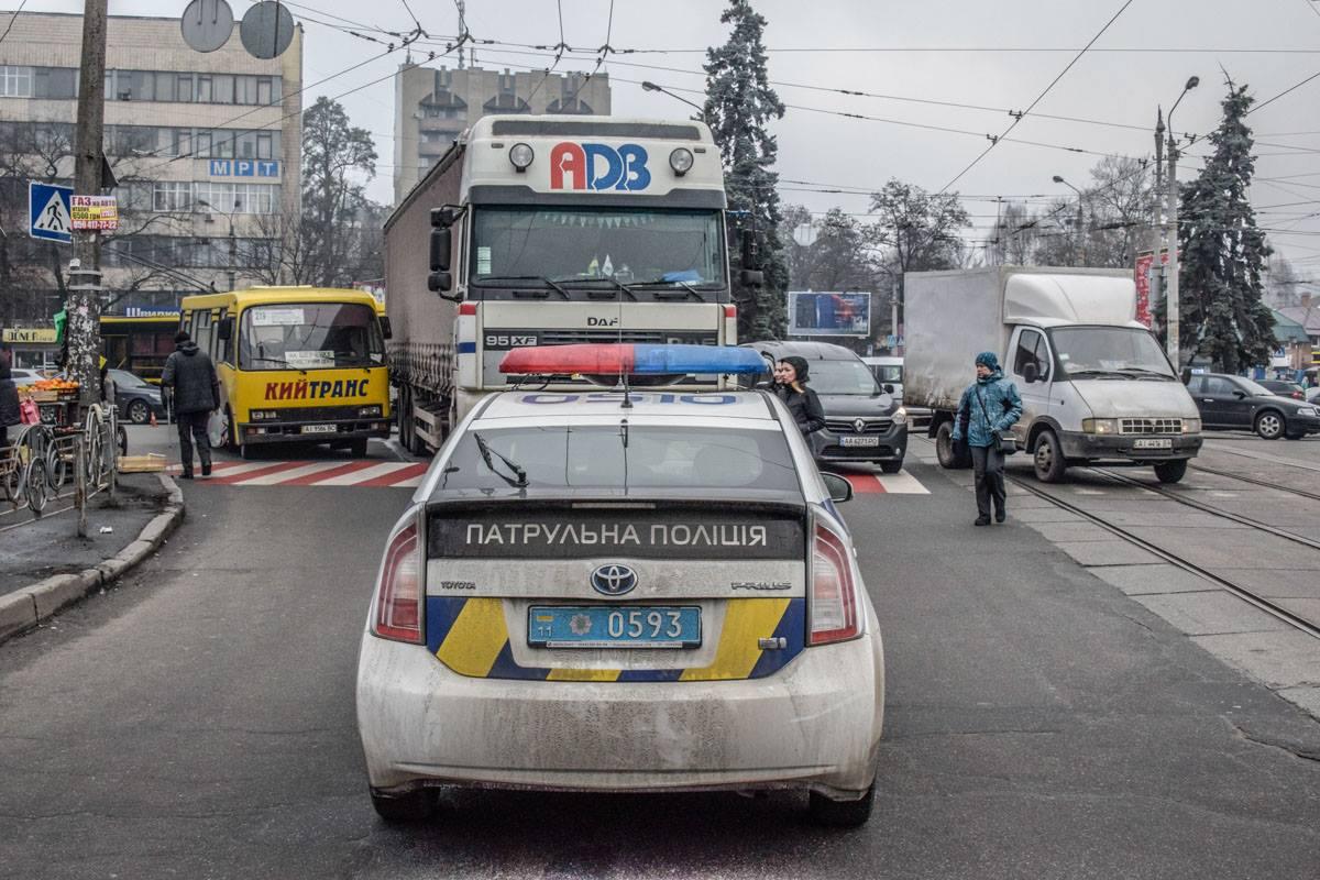 Авария произошла неподалеку от площади Шевченко