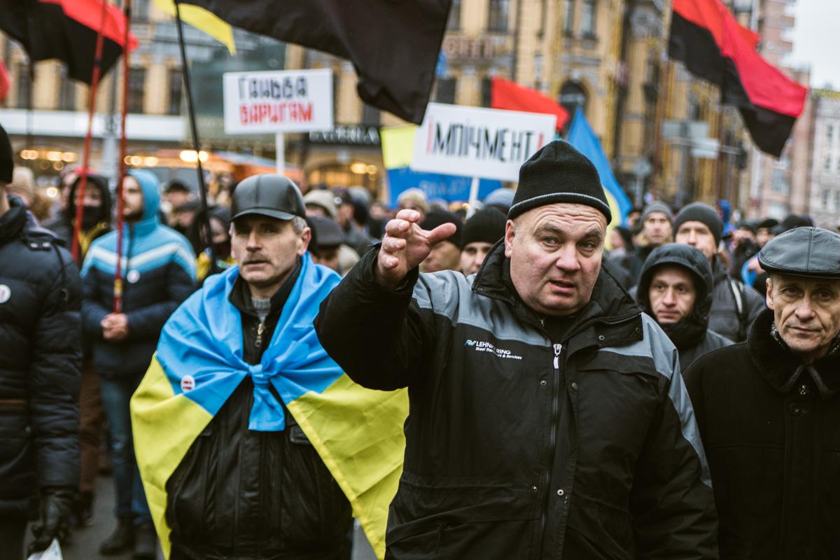 Сторонники Саакашвили требуют импичмента Порошенко и освобождения Михаила