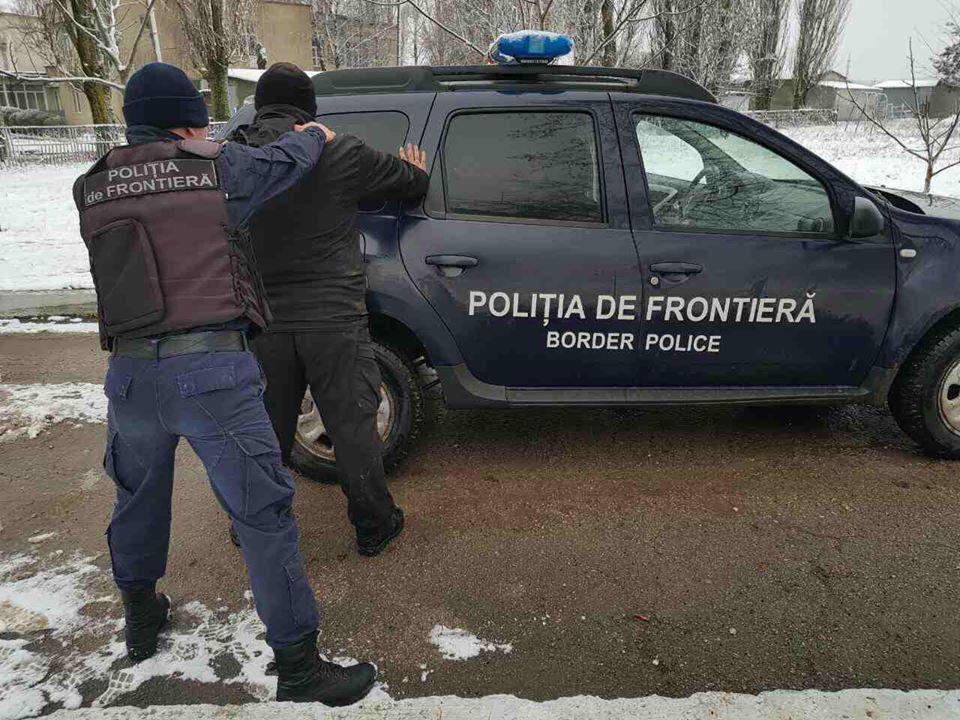 Момент задержание Надирадзе пограничниками Моладвии