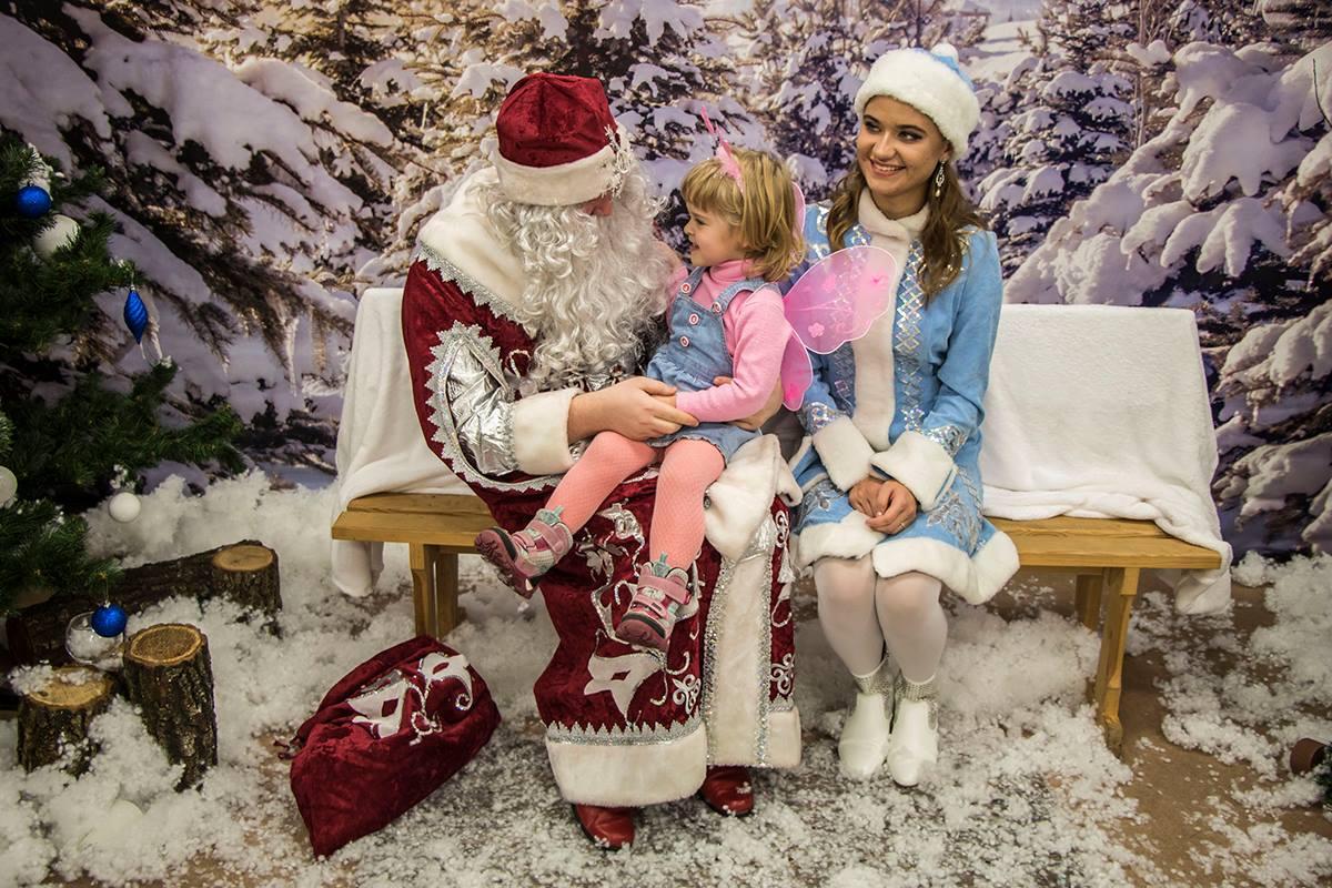 Детки загадывают желание Деду Морозу