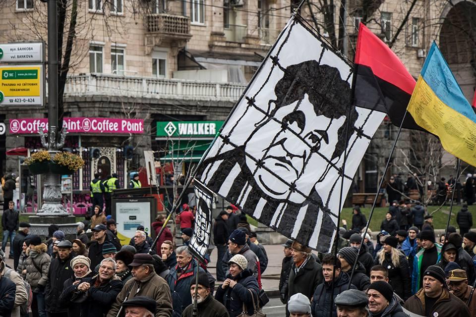Несмотря на митинг на Банковой относительно спокойно - пока не зафиксировано случаев непорядка