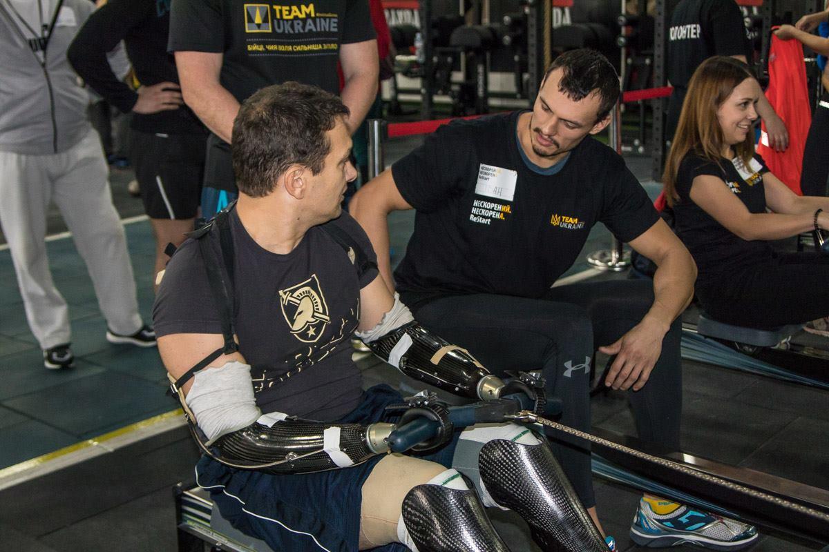 Среди ветеранов АТО были люди с ограниченными физическими возможностями