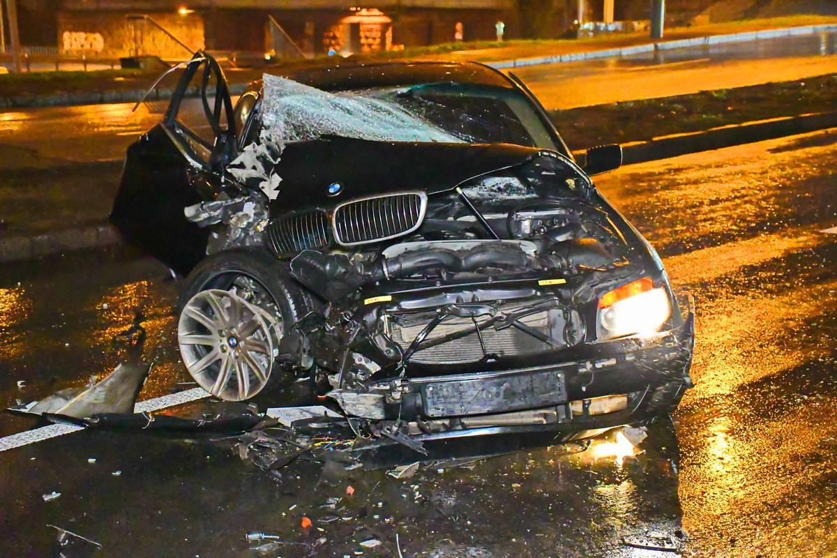 Водителя на месте аварии не было